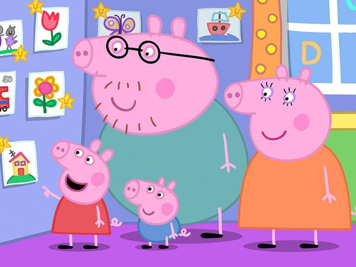 Peppa Pig on TV | Series 5 Episode 42 | Channels and